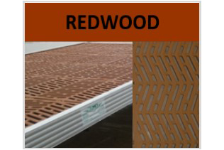 Redwood Dock Tread